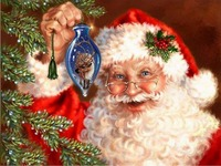 2018 Time Limited Direct Selling Paintings 5d Diy Diamond Painting Crystal Diamond Embroidery Santa Christmas Diamond