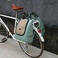 Tourbon винтажная велосипедная задняя Сумка для пикника  сумка для пикника  охлаждающая коробка для обеда  термо Изолированная уличная сумка д...