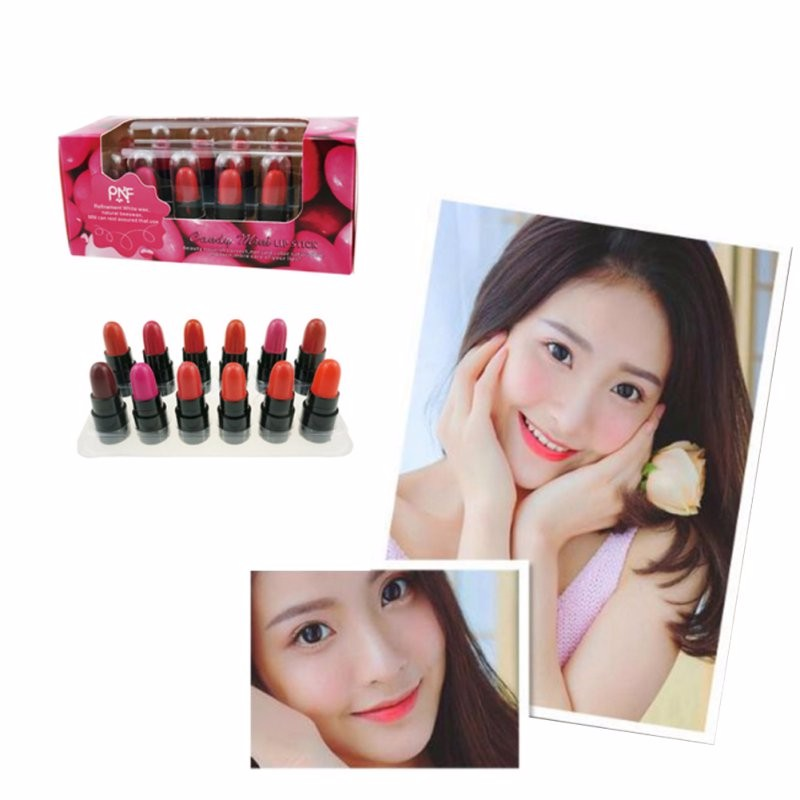 12Pcs Women Liquid Lipstick Batom Lip Kit Set Rouge A Levre Matte Makeup Lip Balm Mini Lip Gloss Long Lasting Waterproof Bright 4