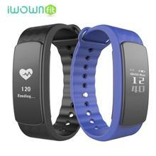 Iwown i3 HR сердечного ритма Мониторы Smart Браслет Спорт bluetoot Smart Band Фитнес трекер для IOS Android