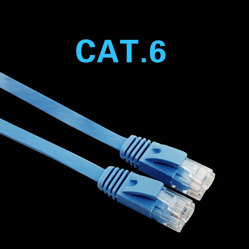 1000Mbps Ethernet CAT6 Network Cable Patch Lead RJ45 for SmartTV Xbox Printers