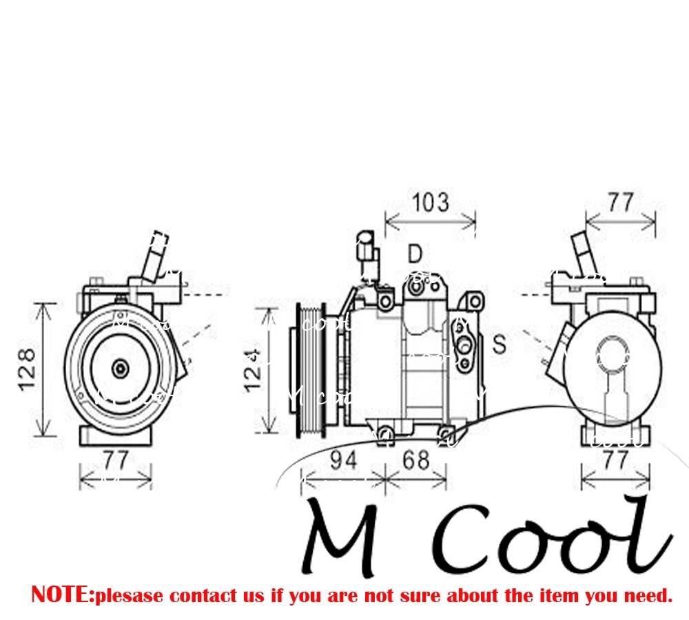 Wa250 Wa380 Solenoid Valve 17a 15 17271 For Komatsu Wheel Loader In Wiring Diagram Air Conditioning A C Ac Compressor Hyundai I20 14 16 Accent Mk Iv