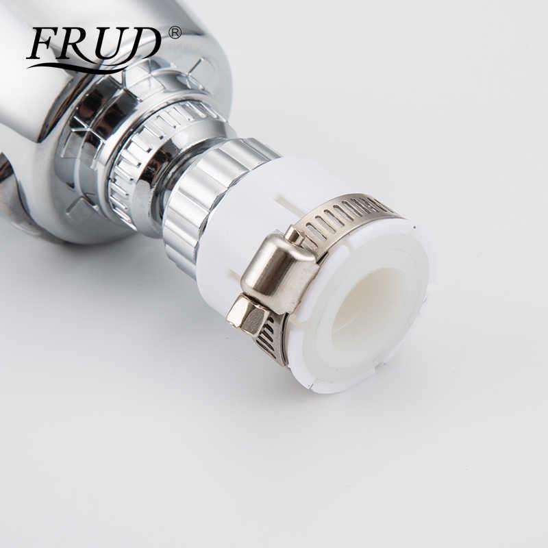 Frud 360 Rotatable Membungkuk Hemat Air Aerator Diffuser Faucet Nozzle Filter Air Kepala Putar Keran Dapur Konektor Suku Cadang