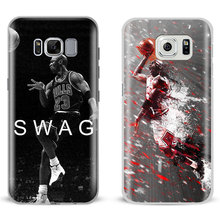 Michael Jordan Mj Dunk Mobile Phone Case Shell Cover Bag For Samsung Galaxy S4 S5 S6 S7 Edge S8 Plus Note 2 3 4 5 C5 C7 A8 A9