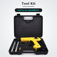 цена на 250W Professional Hot Melt Glue Gun with Tool Kit Pure Copper nozzle Adjustable temperature High Power use 11mm Glue Stick
