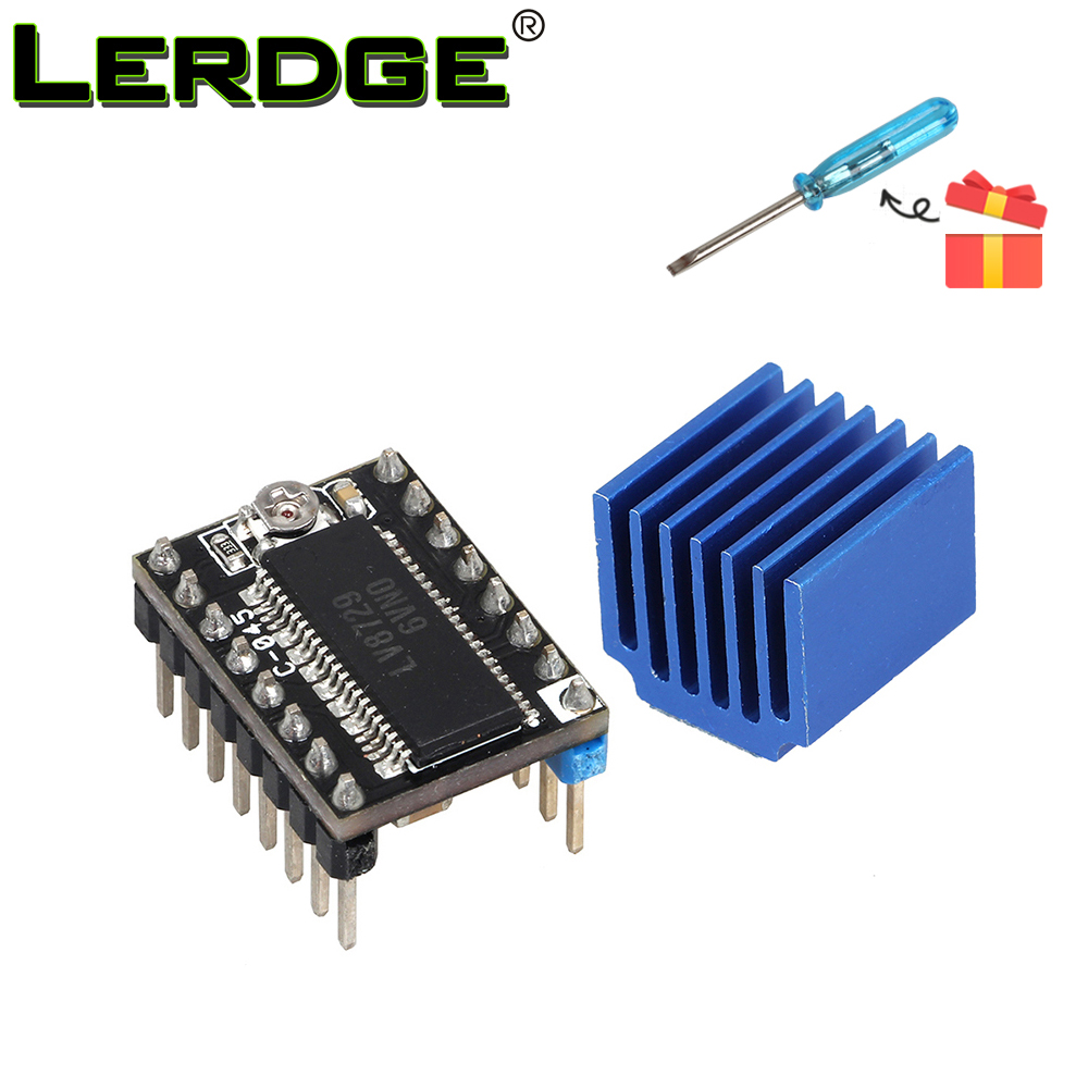 LERDGE LV8729 Stepper Motor Driver 3D Printer Kit 4-layer substrate ultra quiet driver Controll 128