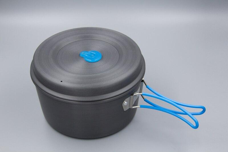 Casseroles de camping ultra-légères APG et ustensiles de cuisine de camping portables - 3