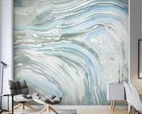 Papier peint 3d en pierre d'agate bleue papier peint papier peint de parede, salon TV canapé mur chambre restaurant papier peint décor à la maison mural personnalisé