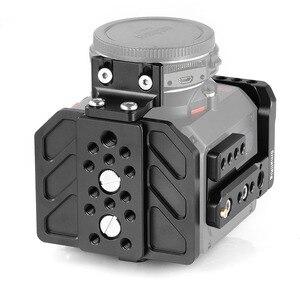 Image 4 - SmallRig כלוב עבור Z מצלמת E2 מצלמה כלוב עם למעלה צלחת/צלחת תחתונה/צד צלחת/עדשת תמיכה/USB/HDMI כבל מהדק כלוב ערכת 2264