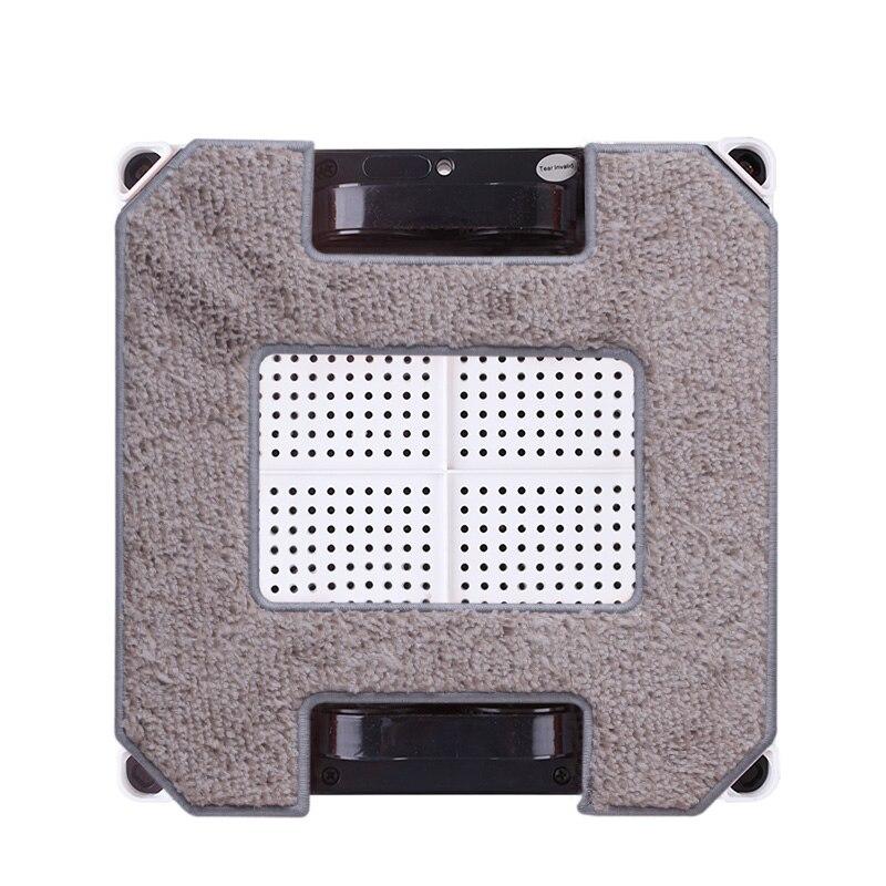 (Für X6) Liectroux Faser Wischen Tücher für Fenster Reinigung Roboter X6, 4 teile/paket