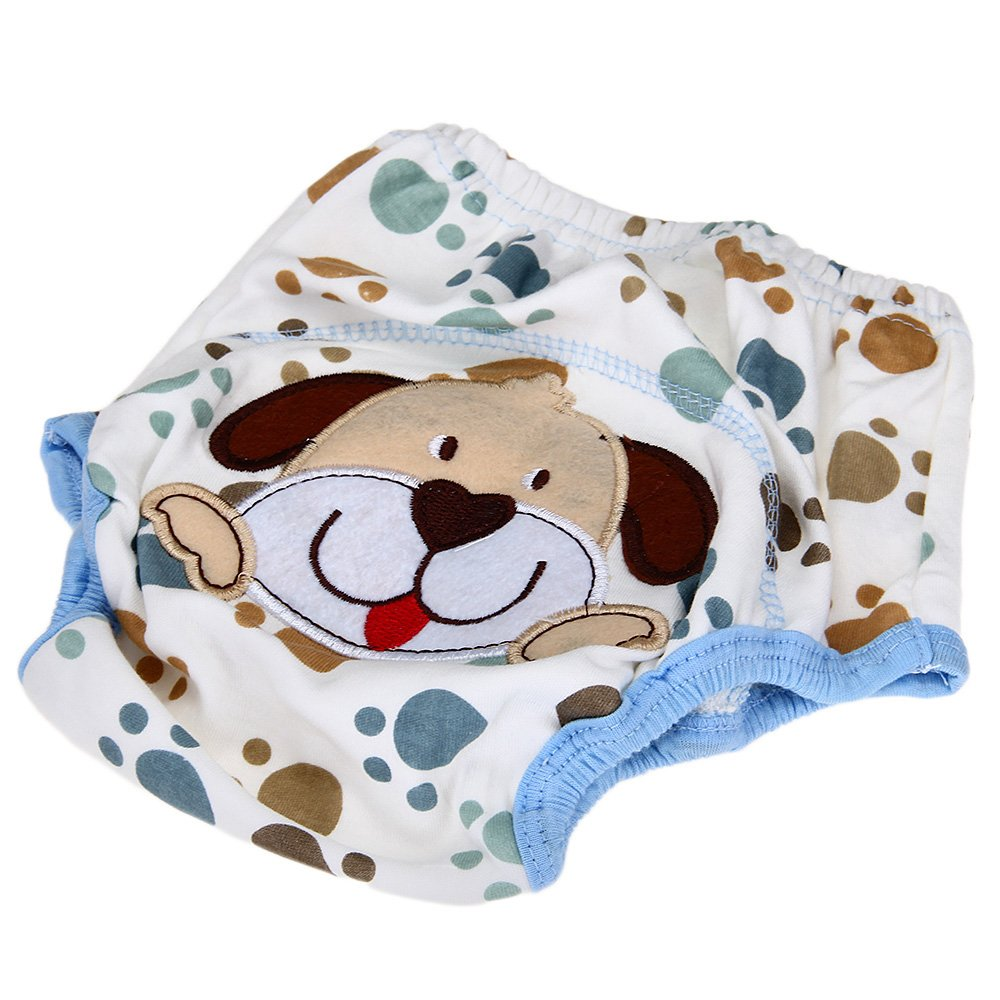 Layer learning panties of washable cotton waterproof dog