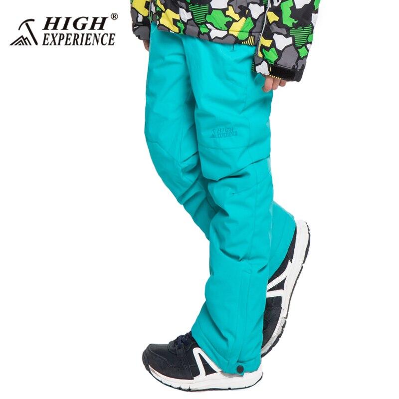 Ski Pantalon Pour Enfants Filles Neige Pantalon Garçon de Neige Pantalon Chaud D'hiver Pantalon Polaire À L'intérieur Ski Et Snowboard Pantalon 6 t À 16 t