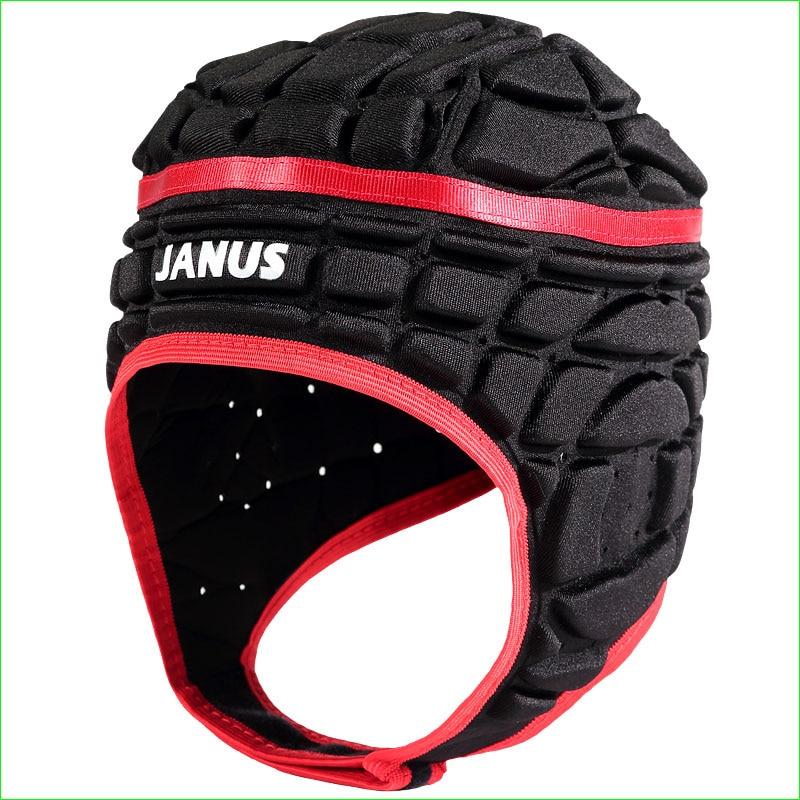 Football Goalkeeper Head Protection Support Wear Soccer Rugby Goalie Helmet Men