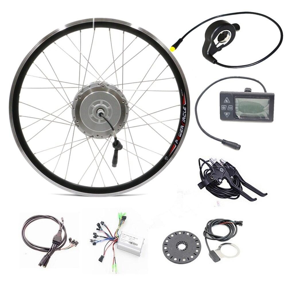 Front wheel hub motors electric bicycle conversion kit 36v for 500w hub motor kit