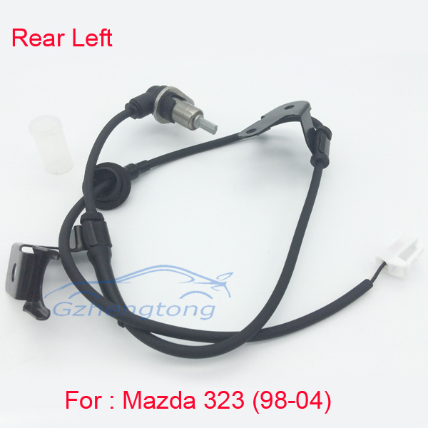 New ABS Wheel Speed Sensor Rear Left  for Mazda 323 98-04 Hight Quality and Free Shipping