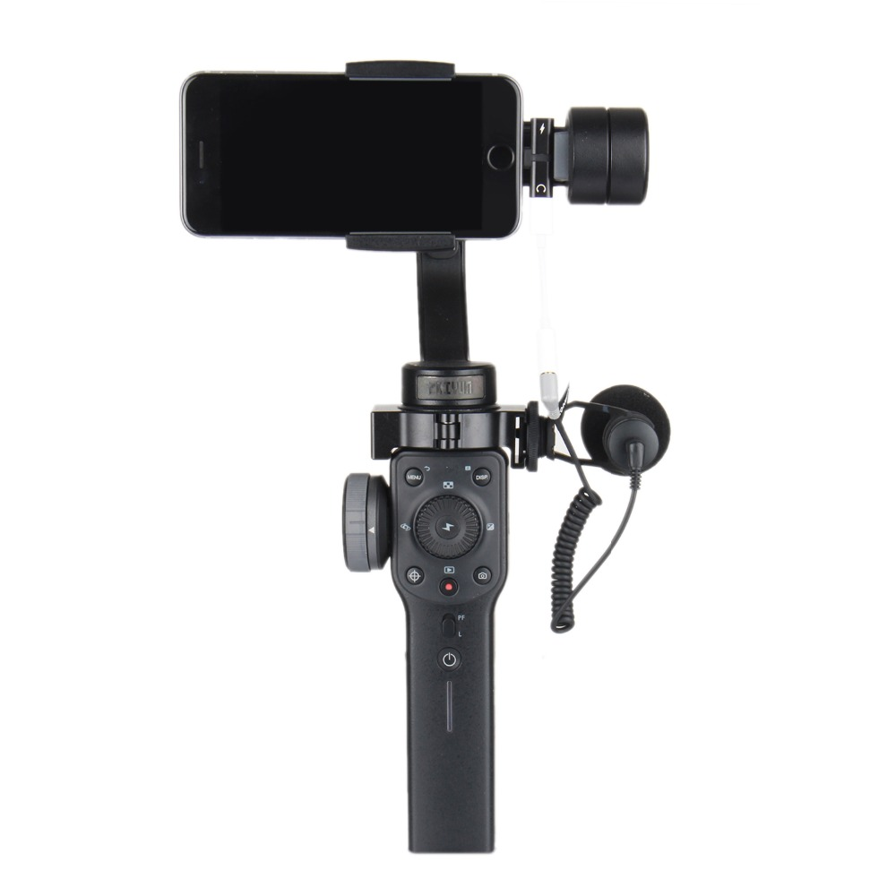 Zhiyun Smooth4 гладкой 4 3 оси ручной Gimbal стабилизатор для смартфонов экшн камеры iPhone X 8 Gopro Hero 5 SJCAM Yi mic kit