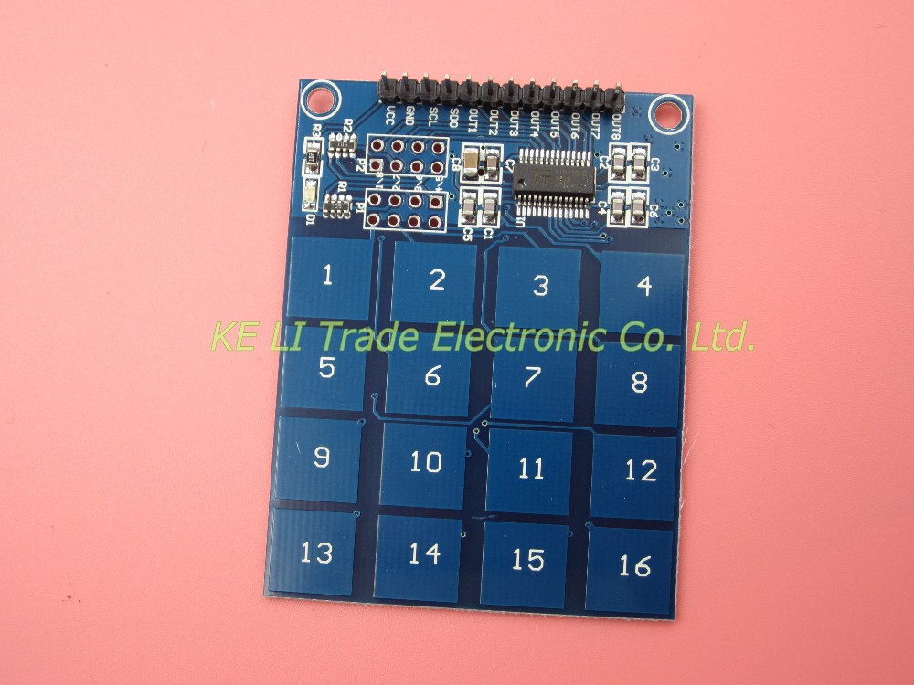 new 1pcs lot TTP229 16 way capacitive touch switch digital touch sensor module new original