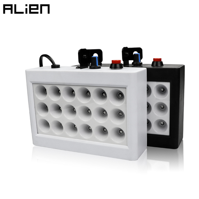 ALIEN 18 LED Disco DJ 20W RGB  Strobe Lights AUTO Sound Activated Flash Stage Lighting Effect for Party Club Xmas Dance Birthday