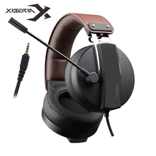 XIBERIA Best PS4 Gaming Headset casque 3.5mm PC Gamer Stereo Earphones with Microphone for Xiaomi Xbox One Laptop Computer Game plextone g30 portable gaming headset deep stereo bass pc game earphones with detachable microphone for computer ps4 new xbox one
