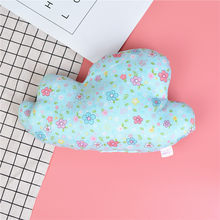Baby Pillow Cotton Print Sleeping Comfort Pillow Newborn Mini Clouds Pillow Napping Baby Decoration Pillow Seat Trolley Cushions(China)