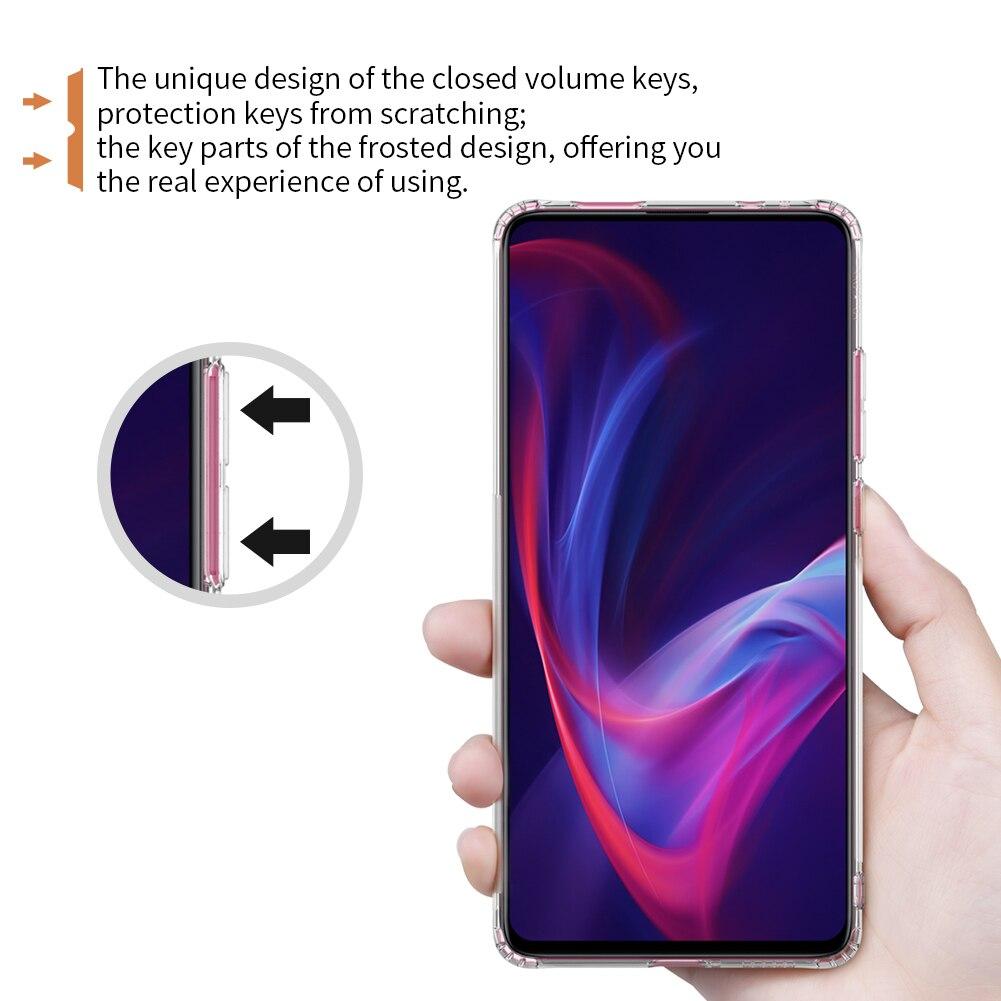 HTB10gXSeQ9E3KVjSZFGq6A19XXaw TPU Case for Xiaomi Mi 9T Pro Casing Nillkin Nature Transparent Clear Soft Silicon Soft Cover for Xiaomi Mi 9T Pro Case