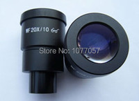 Dia 30mm, Super Wide field WF20x 10mm Microscope Eyepiece For Stereo Microscopes with 30mm Mounting , 1 pair