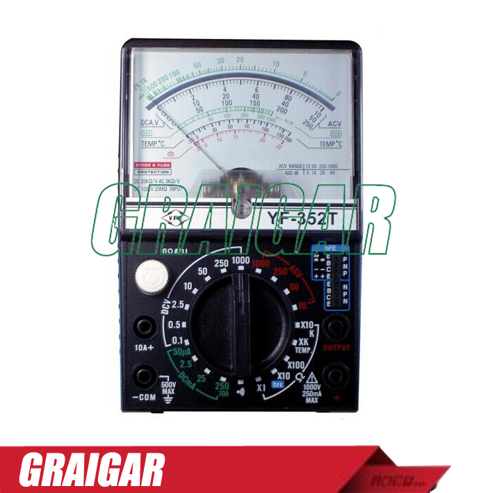 цена на LED Pointer Multimeter/Analog Multimeter/Pointer Multi-Functions Meter YF-352T