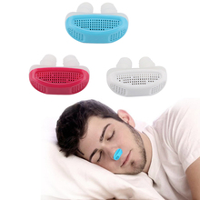 1pc Relieve Snoring Nose Snore Stopping Breathing Apparatus Guard Sleeping Aid Mini Device Anti Silicone
