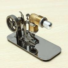 594ff10be90 Mini Motor de Ar Quente Stirling Motor Modelo Kits de Ciência   Brinquedos  Educativos Brinquedo Descoberta