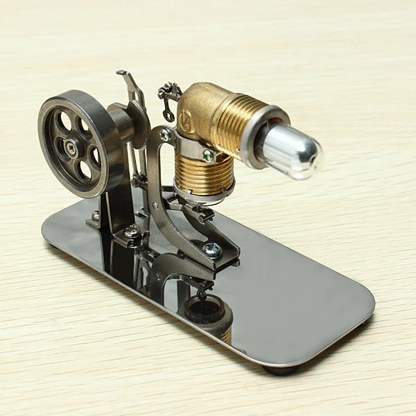 Mini Motor de Ar Quente Stirling Motor Modelo Kits de Ciência & Brinquedos Educativos Brinquedo Descoberta