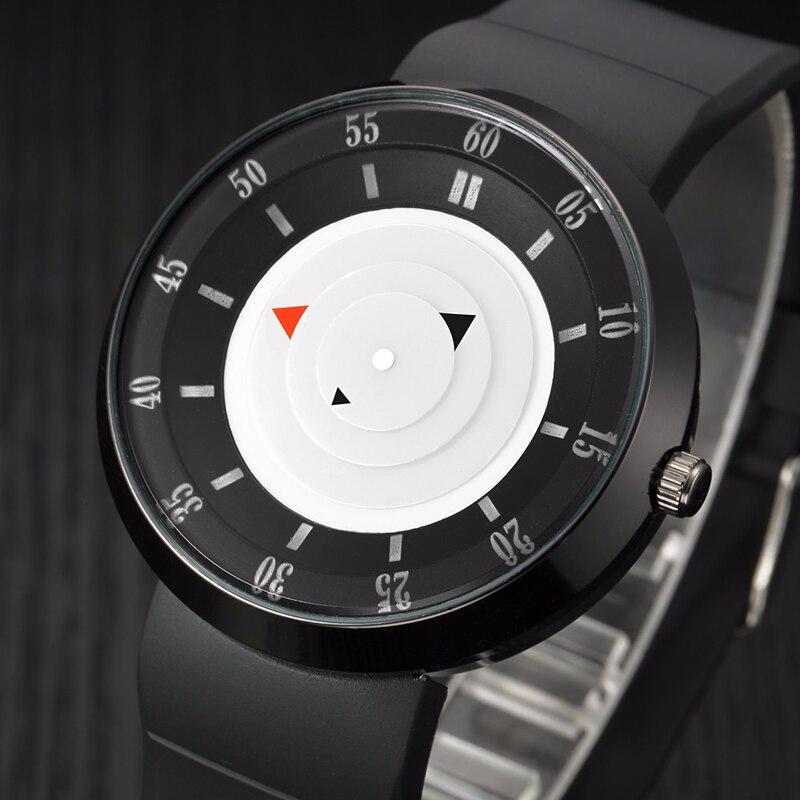 Fashion Brand men quartz watches Sports Men's military wrist watch wristwatch fashion casual sport relogio masculino Silica gel