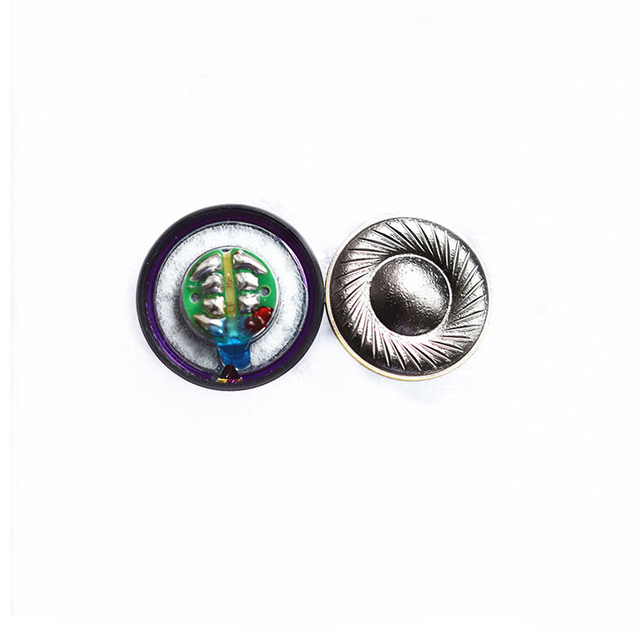 15.4mm 130 ohm Headphone HiFi Loudspeakers Pure Beryllium Speaker unit for MX500 DIY with Shell Cases 108dB/W