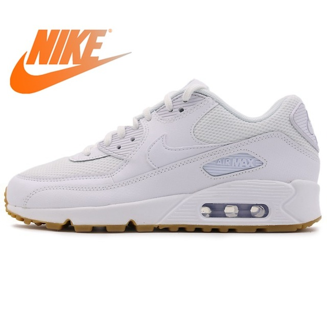 wholesale dealer fbeb9 9fb65 Original Authentic 2018 NIKE AIR MAX 90 LE Women s Running Shoes Sneakers  Stability Breathable Sports Outdoor Walking Jogging
