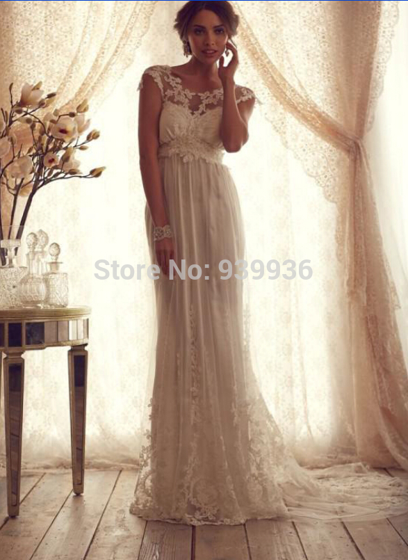 Vintage Style Wedding Dresses Lace - Wedding Dress Ideas