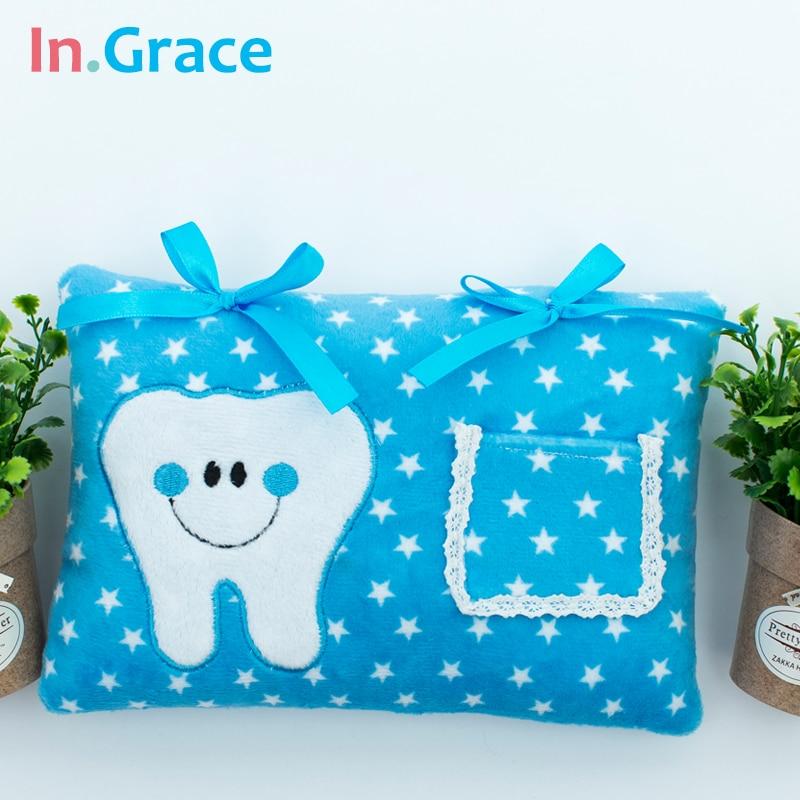 InGrace Cute Soft Tooth Fairy ბალიში ბიჭები - პლუშები სათამაშოები - ფოტო 5