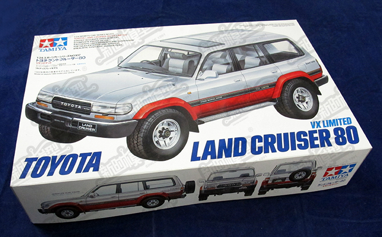 Assembly 1/24 Toyota Cruiser Land Cruiser VX80 24107 Model Toy pit stop машинка toyota land cruiser белая 1 41 1 32 ps 0616401 w