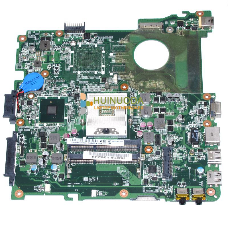 NOKOTION DA0ZQ9MB6C0 MBR9Y06001 MB.R9Y06.001 For acer aspire 4738 4738G laptop motherboard HM55 DDR2 mb nbr06 002 mbnbr06002 for acer aspire 4738 4738g 4738zg laptop motherboard hm55 ddr3 free shipping 100
