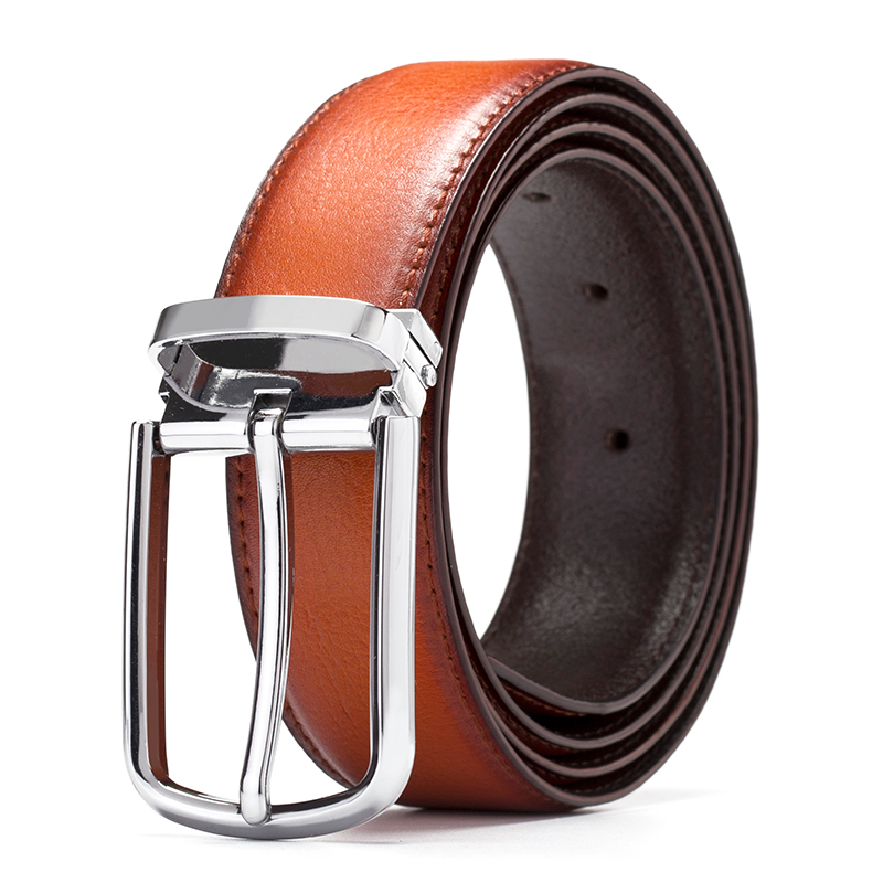 4color Genuine Leather male   Belt   For men brand strap Luxury Men's   Belt   pin buckle Cowhide fashion designer   belt   men high quality