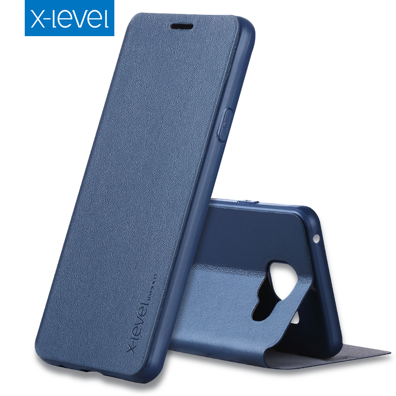 X-Level Luxury Business PU Leather Case for Samsung Galaxy A3 2016 A310 Flip Cover for Samsung A3 6/A310F/A310M Stand Case Cover