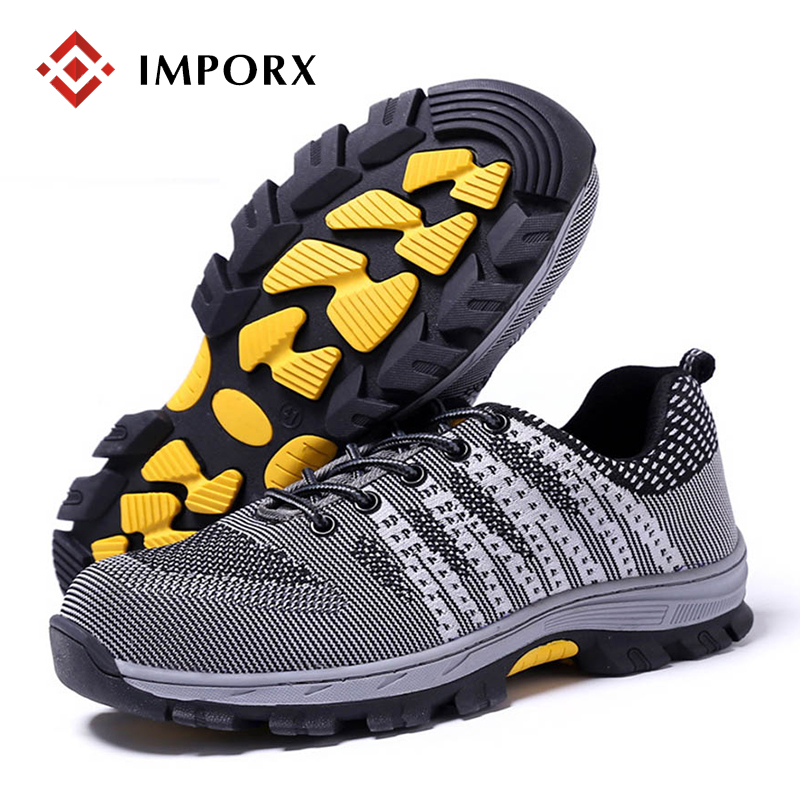 Fashion Men Safety Work Shoes Mesh Breathable Anti-puncture Tooling Low Boots Steel Toe Cap Protect Footwear Boots Safety Shoes halinfer men s safety shoes with steel toe cap air mesh round toe breathable casual fashion outdoor men safety boots