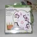 Swaddleme лето новорожденного младенца хлопка 100% держит новорожденного мультфильм печать пеленальный одеяло 0-6 месяцев