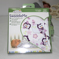 Swaddleme verano recién nacido bebé de algodón 100% sostiene recién nacido swaddle manta infantil de dibujos animados de impresión 0-6 meses