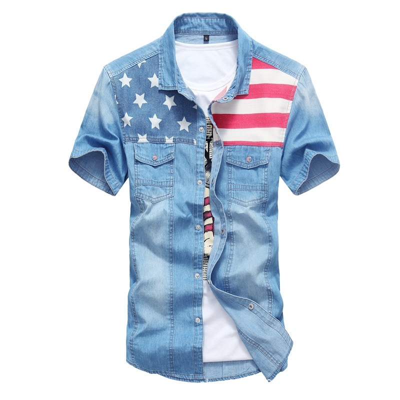 Compare Prices on Mens Jeans Shirt- Online Shopping/Buy Low Price ...
