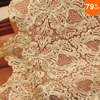 The Golden Baroque Hearts A Big Lace Fabric Voile Tulle Fabric High Quality Swiss Laces Switzerland