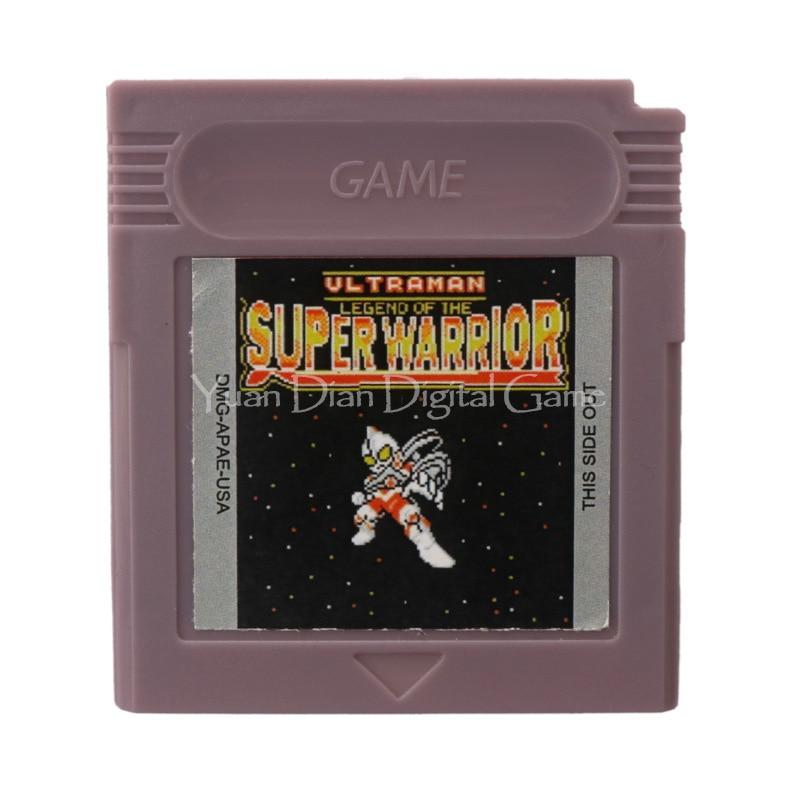 Yuan Dian Digital Game Store Store Nintendo GBC Video Game Cartridge Console Card Ultraman Legend of the Super Warrior English Language Version