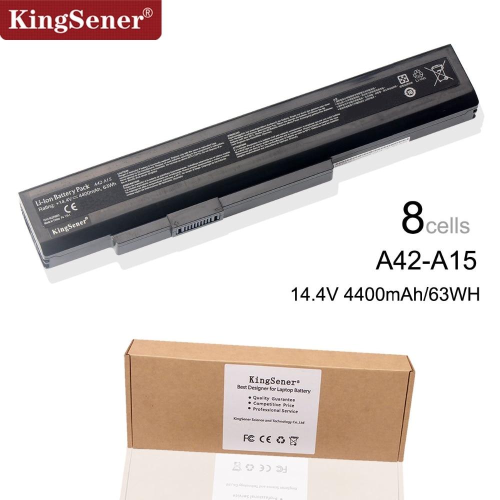 KingSener Neue A42-A15 Laptop Batterie Für MSI A6400 CR640 CX640 Für Medion E6221 E6227 P6815 P6634 X6815 A32-A15 A41-A15 A42-A15