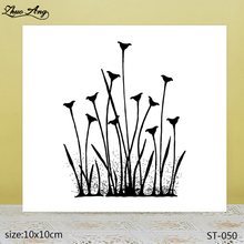 ZhuoAng  Beautiful plant transparent silicone stamp / DIY scrapbook photo album decorative seal