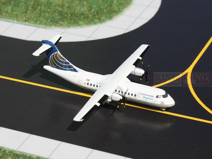 GJCOA1079 GeminiJets Continental Airlines N14832 1:400 ATR-42 commercial jetliners plane model hobby
