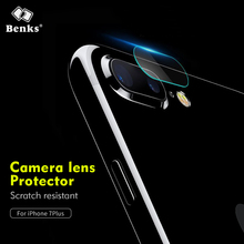 Benks Glass Transparent Camera lens tempered glass Protector for iPhone 7 8 Plus Back Cover Phone Lens Glass Protector