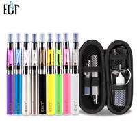 EGo Ce4 Single E Cigarette Pack Starter Kit With EGo Size M Zipper Bag